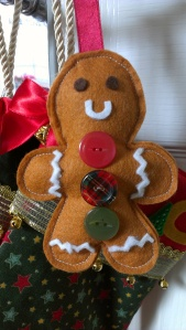 Make a Felt Gingerbread Man