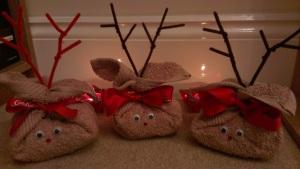 flannel reindeer