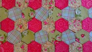 hexagonal patchwork
