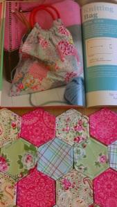 cath kidston knitting bag