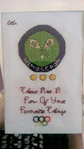 wimbledon cross stitch