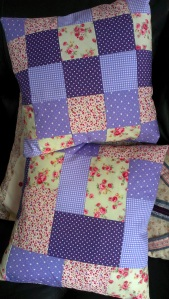 patchwork cushions 2