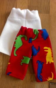 fleece baby trousers