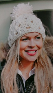 Carol Meldrum woolly hat