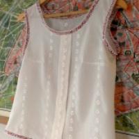 My Colette Sorbetto (free pattern!)