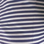 blue stripe cotton