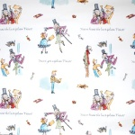 roald dahl fabric golden ticket