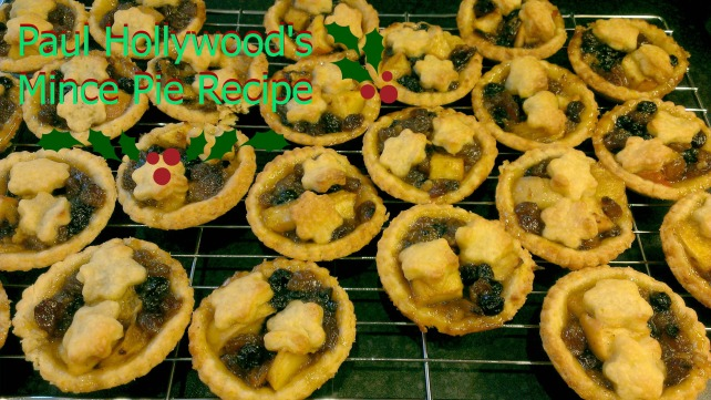 paul hollywood's mince pie recipe