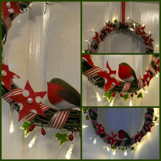 make a scandi style christmas wreath