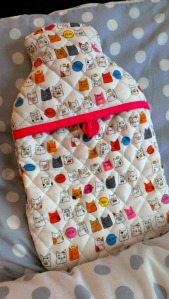 quilted hot water bottle 2