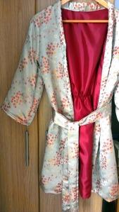 burda satin kimono