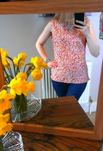 New Look 6483 Sleeveless Top - GBSB2 Inspired!