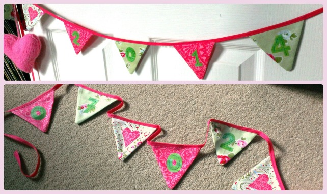 engagement flag bunting