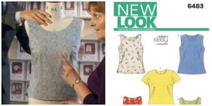 great britsh sewing bee cotton sleeveless top