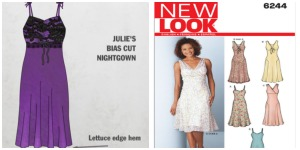 great british sewing bee julie nightgown new look 6244
