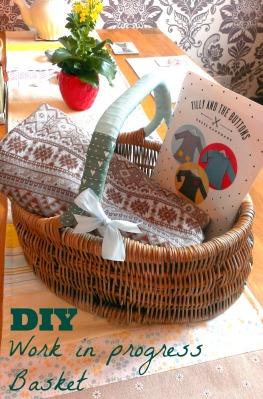 diy work in progress basket