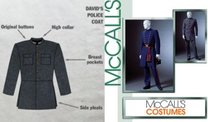 david's military coat sewing pattern gbsb McCalls 4745