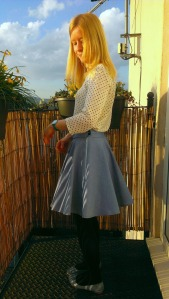 Sewing Bee circle skirt
