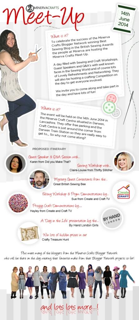 Minerva Crafts Meet Up Image for Blog Post