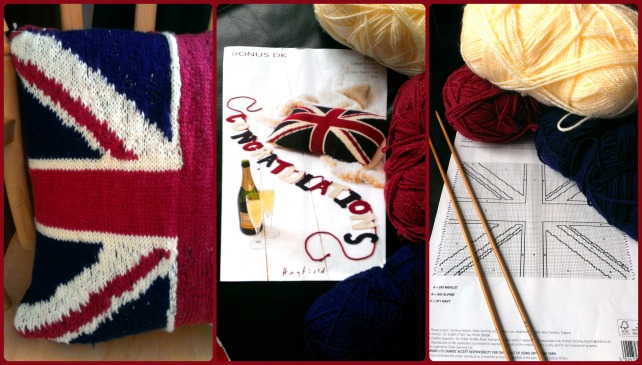knitted union jack cushion sirdar pattern
