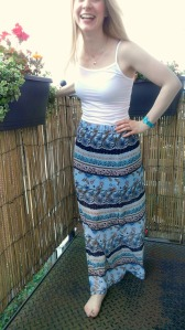 Simplicity 1663 Layered Chiffon Maxi Skirt