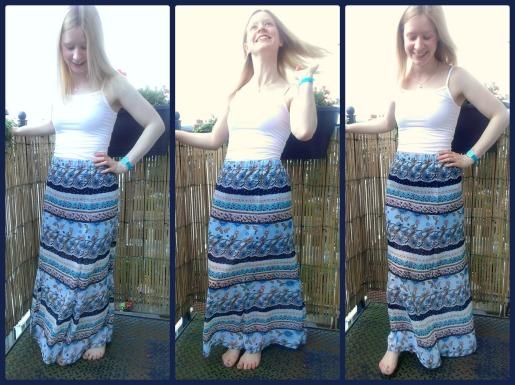 simplicity 1663 long maxi skirt
