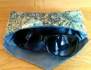 liberty sunglasses case and pattern