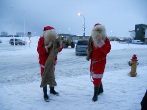 Iceland santas
