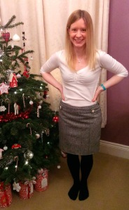 simplicity 1591 wool mini skirt