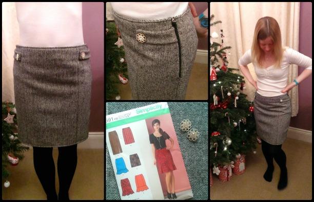 simplicity 1591 skirt