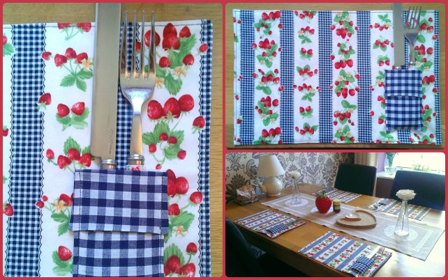 liberty simple sewing table mats