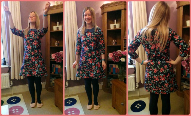 tilly and the buttons francoise floral dress