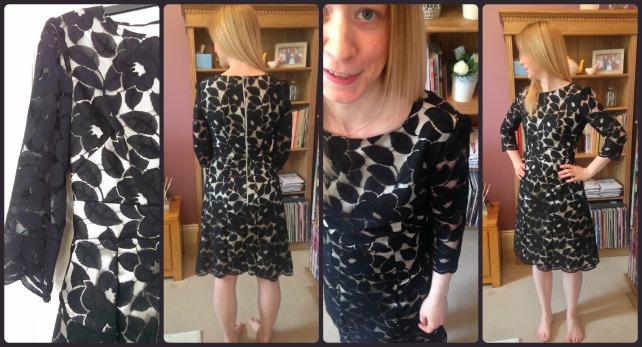 vogue 8949 lace dress gbsb