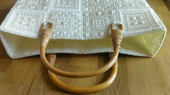 wooden tote handles
