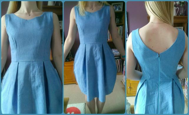 denim elisalex dress