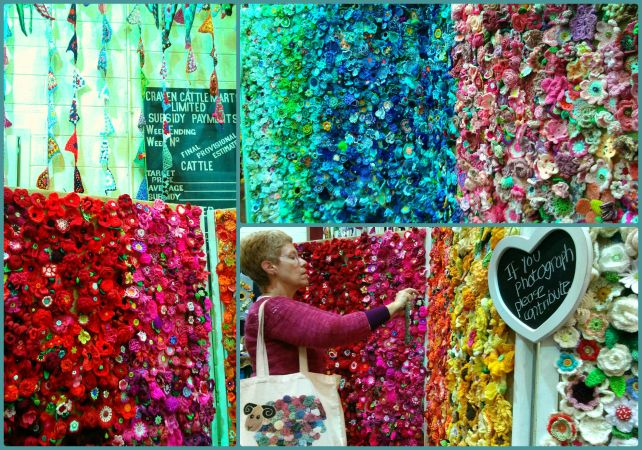 yarndale wall of flowers