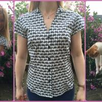 Blogger Network #25 - New Look 6407 Elephant Shirt