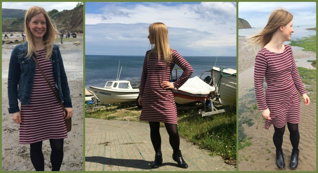 tilly and the buttons striped coco dress