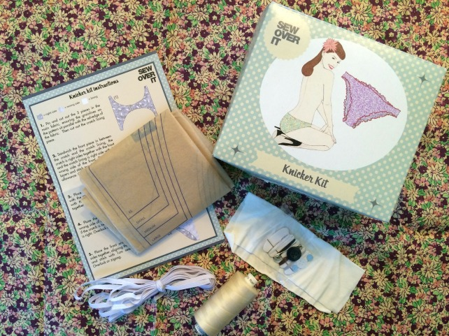 sew over it knicker kit contents