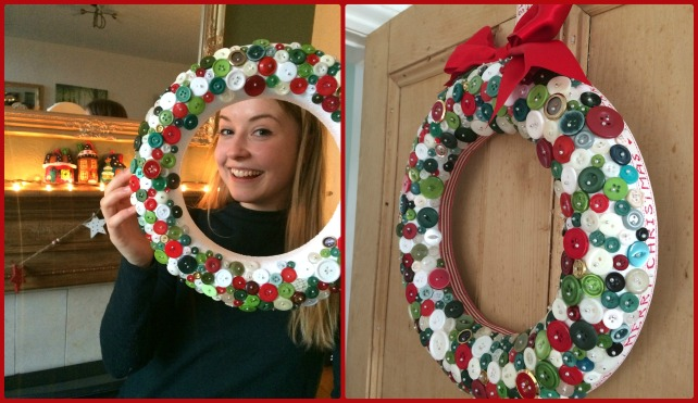 how-to-make-a-button-wreath