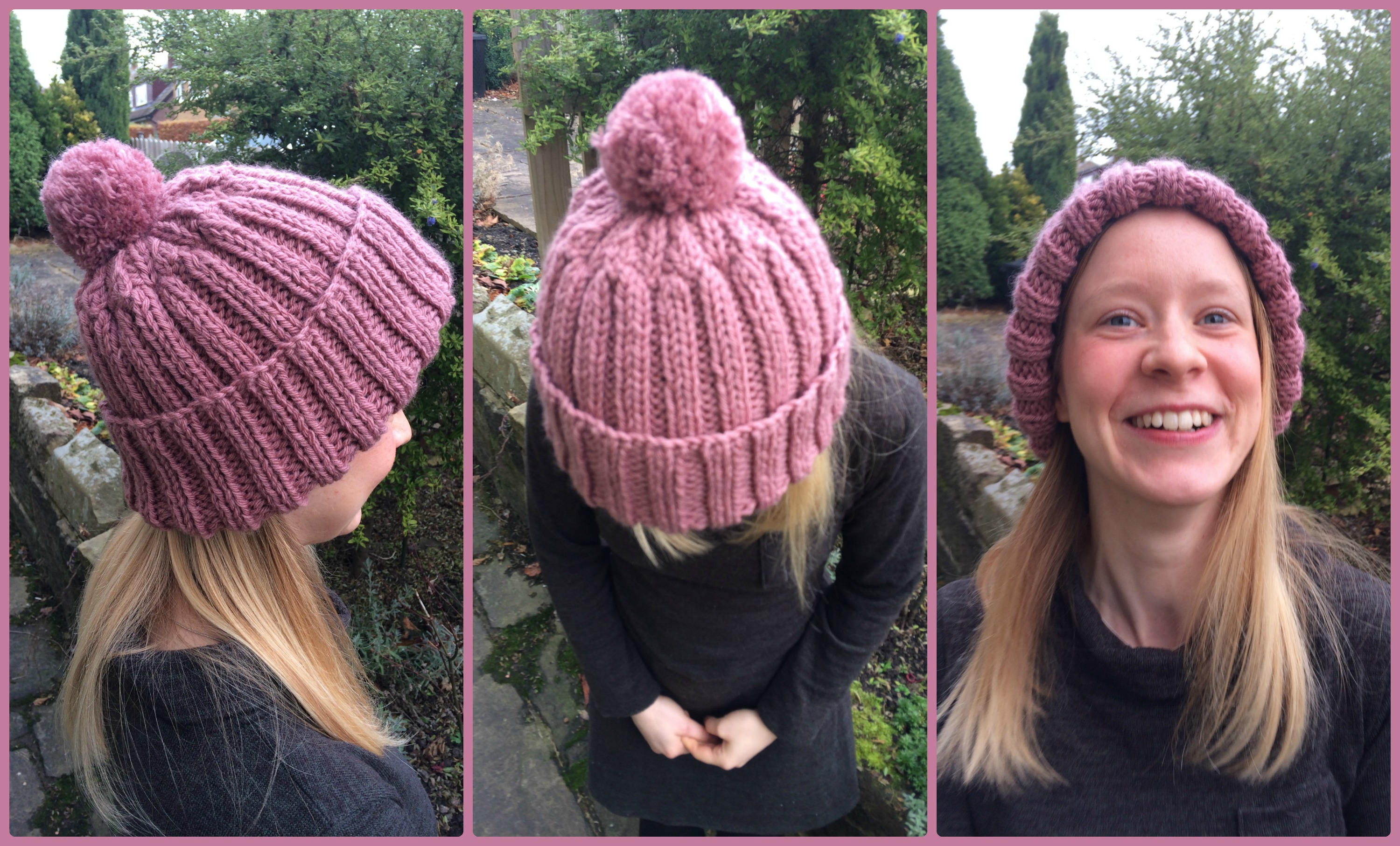 I Knitted a Woolly Hat! + Free Knitting Pattern | Sew Sensational