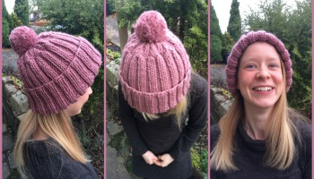 I Knitted a Woolly Hat! + Free Knitting Pattern 001f2cf4310