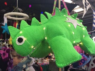 yarndale felt dinosaur